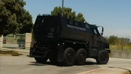Redwood City Police MRAP