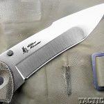 Review SOG Kiku Knives blade