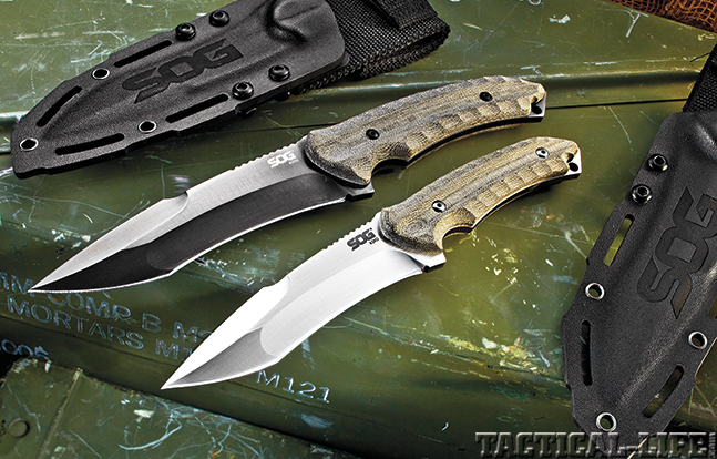 Review SOG Kiku Knives lead