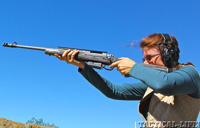 Ruger Gunsite Scout female