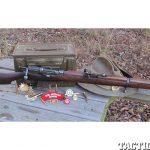 Short Mag Lee Enfield firearm