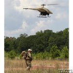 soldier UAV field