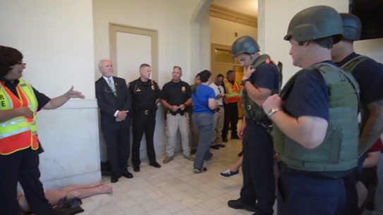 St. Augustine active shooter training