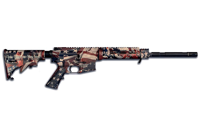 Stag Arms American Flag coating