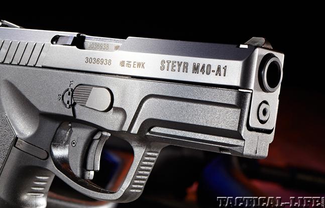Steyr M40-A1 muzzle
