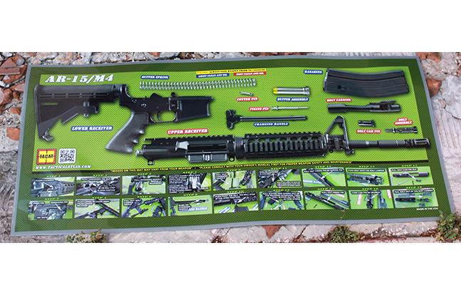 Tactical Atlas green mat actual