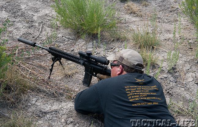Trijicon exclusive shooting mountainside