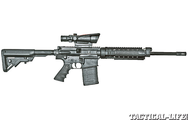 Armalite Defenders A10 scope right