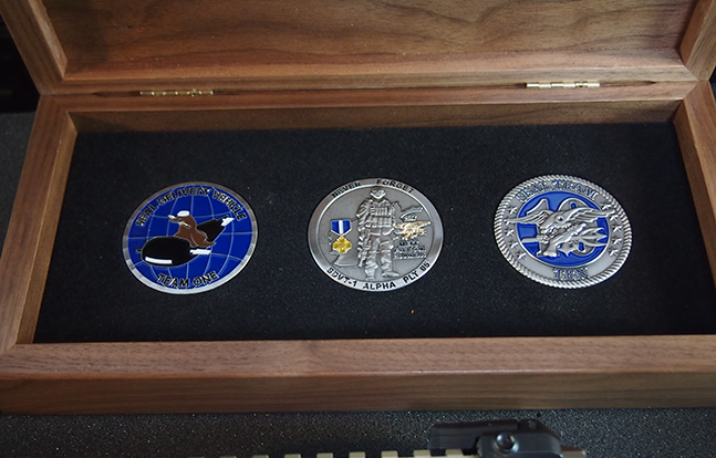 Axelson Tactical AXE Special Purpose Rifle medals