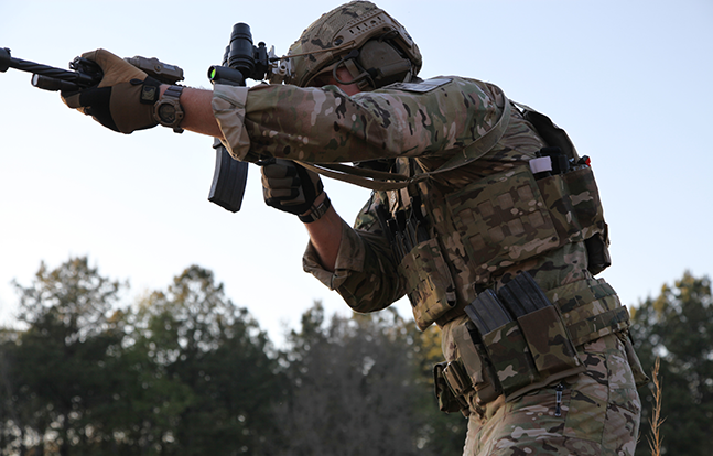 Blue Force Gear Top Bulletproof body armor rifle
