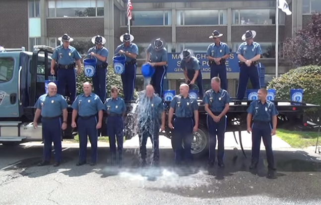 Massachusetts State Police ALS Ice Bucket Challenge