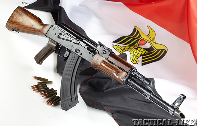 Piece of History Firearms Egyptian lead AK evergreen