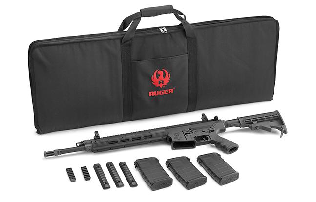 Ruger BG2015 SR-762 bag SR-556