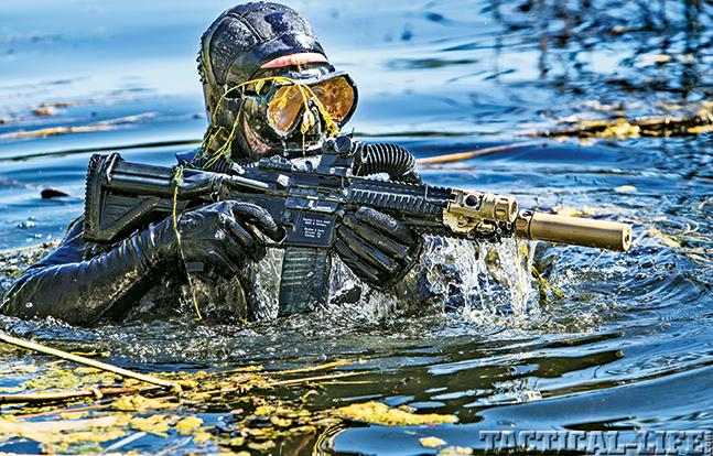 SureFire SOCOM suppressors water