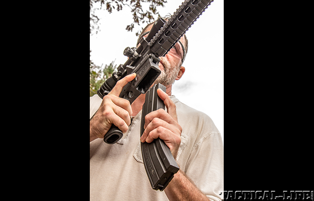 Smith & Wesson M&P15-22 AR loading gun review