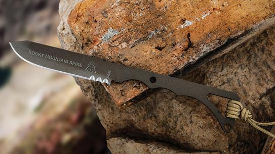 TOPS Knives Rocky Mountain Spike lead