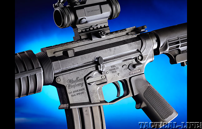 Windham Weaponry Carbon Fiber SRC BG side