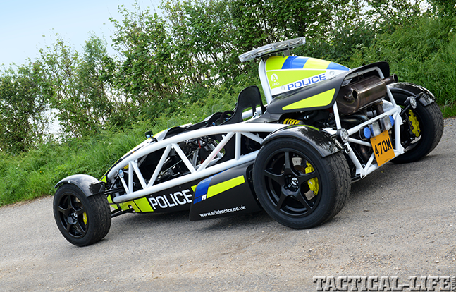 World's Fastest Police Car preview solo