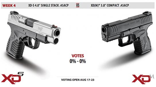 XD-S vs. XD(M) duel Springfield Armory