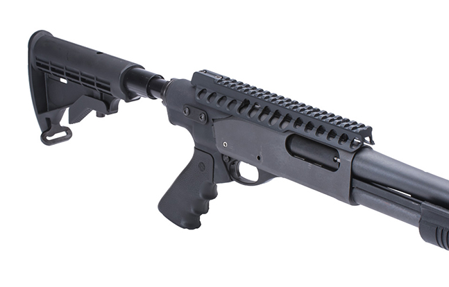 Telescoping Hydraulic Recoil Stock Kit for Rem 870 gun