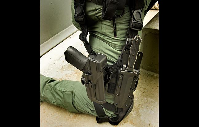 BlackHawk SERPA TR evergreen knife