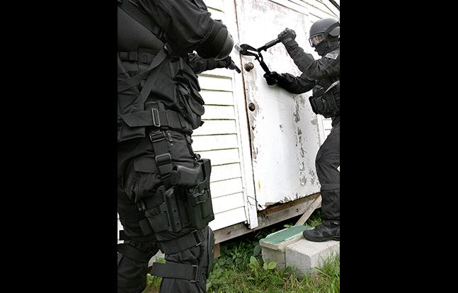 BlackHawk SERPA TR evergreen SWAT