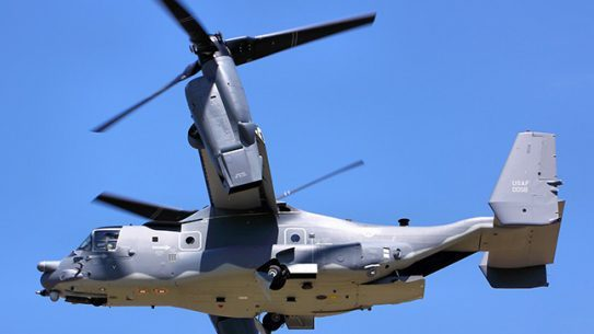 CV-22 Osprey armor weapons