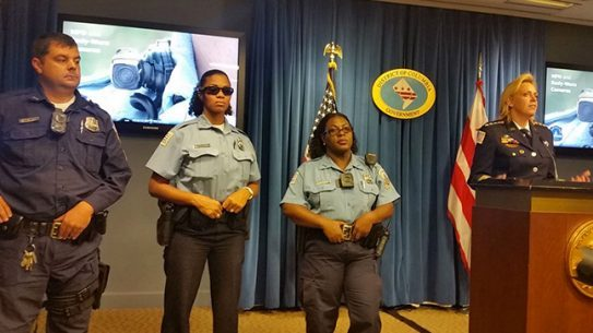 DC Metro Police body cameras