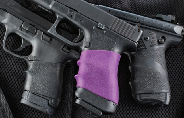 Hogue Purple Grips
