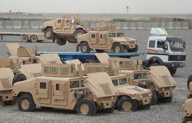 Humvees 1033 Colorado Law Enforcement