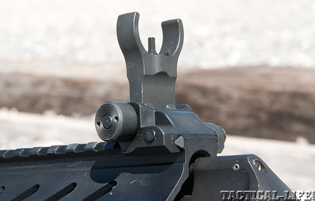 LMT LM8MWS exclusive front sight