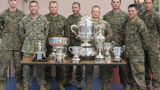 US Marines Royal Marine Operational Shooting Competition