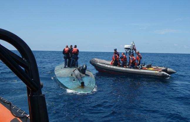 Narco Submarine Takedowns board
