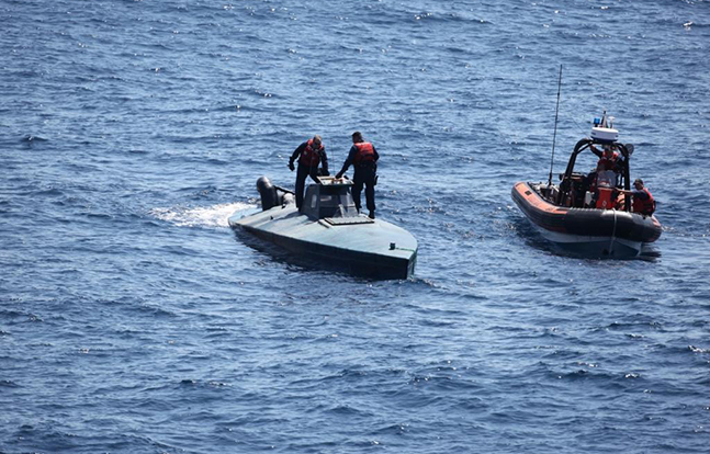 Narco Submarine Takedowns sub