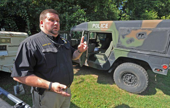 North Carolina 1033 military surplus program