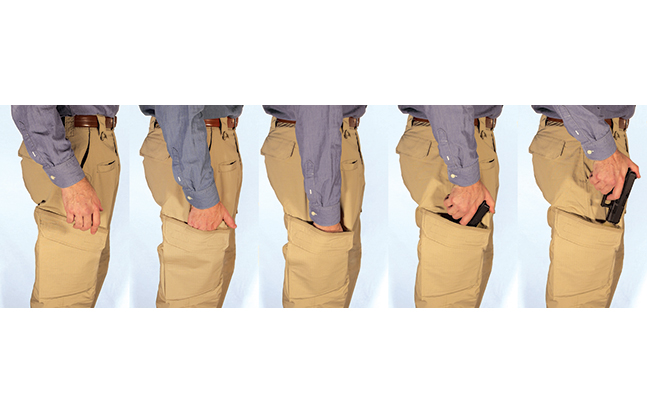 STRYKR COVERT CARRY PANTS GWLE evergreen sequence