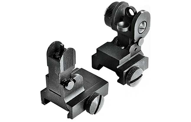11 Back Up Iron Sights American Tactical Flip Up Combo