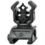 11 Back Up Iron Sights Diamondhead Polymer Flip-Ups with NiteBrite rear