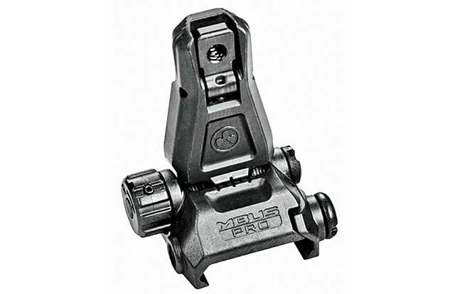 11 Back Up Iron Sights Magpul MBUS Pro rear