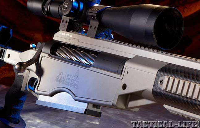 ASHBURY PRECISION ORDNANCE ASW50 top rifles swmp 2014 logo
