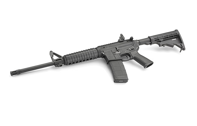 fall 2014 best tactical rifles Ruger AR-556 left