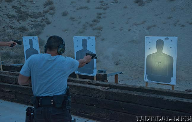 Tactical Training Lights, Sights and Lasers Tour light