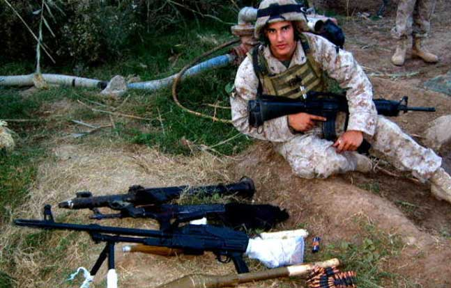 Marine Lance Cpl. Brian Parrello
