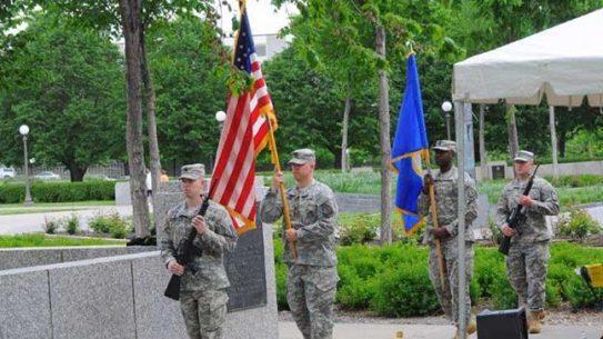 Minnesota Military Family Tribute groundbreaking