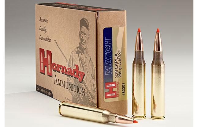 NASGW ammo evergreen Hornady A-MAX