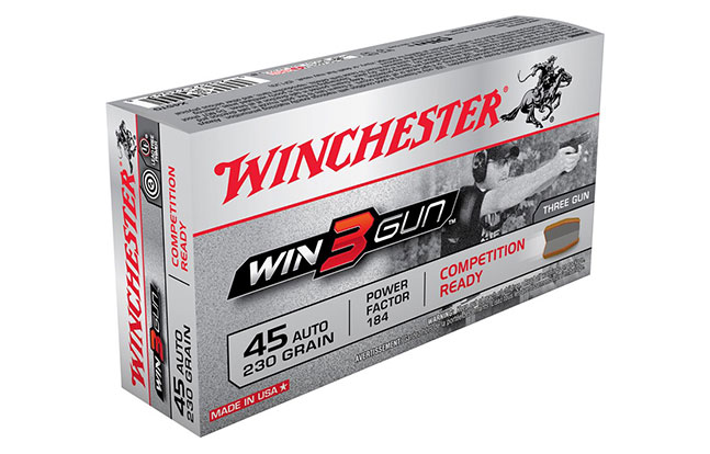 NASGW ammo evergreen Nosler Winchester Win3Gun