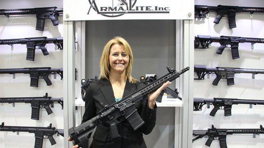 NASGW ArmaLite AR-10 Pistol show