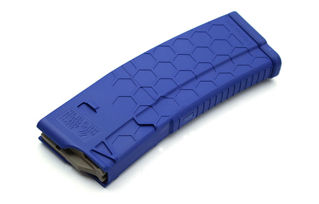 NASGW LEO products HexMag Blue AR Magazines