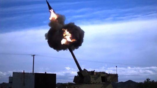 Raytheon Excalibur S 155 round