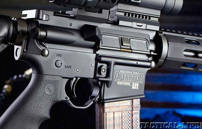 ROCK RIVER ARMS LAR-15 OPERATOR III top rifles swmp 2014 side